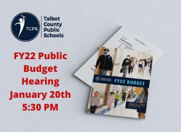Budget hearing banner