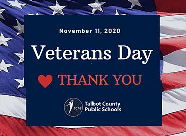 veterans day tribute banner