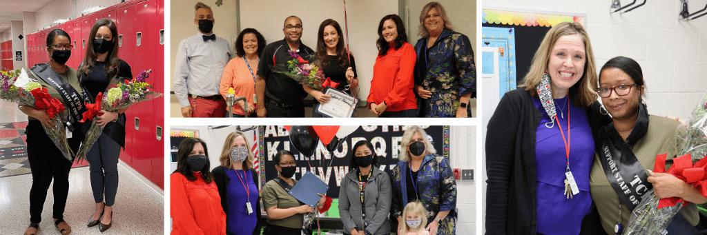 Teacher and Support staff of the Year banner